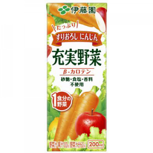 充実野菜 緑黄色野菜ミックス(すりおろしにんじん)